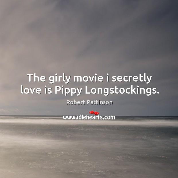 The girly movie i secretly love is Pippy Longstockings. Image