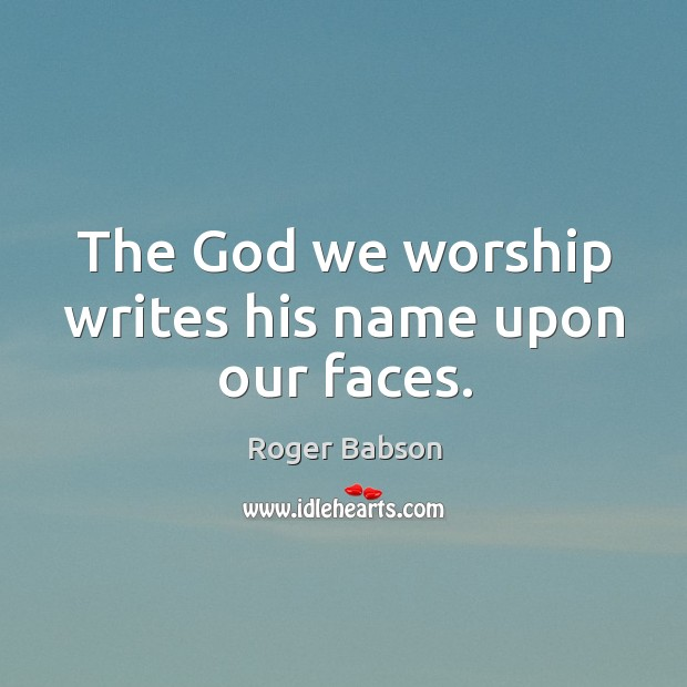 Picture Quote by Roger Babson
