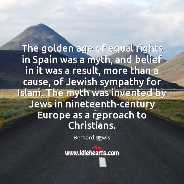 Image, The golden age of equal rights in Spain was a myth, and