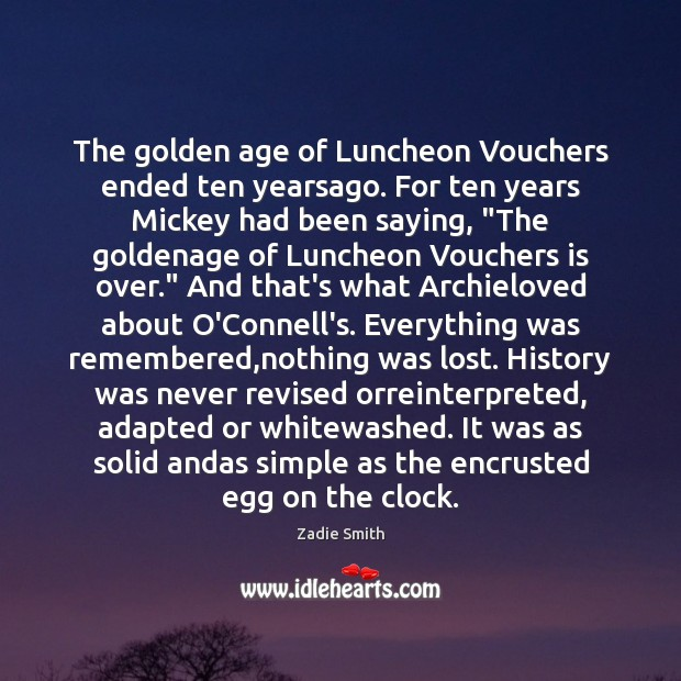 The golden age of Luncheon Vouchers ended ten yearsago. For ten years Image