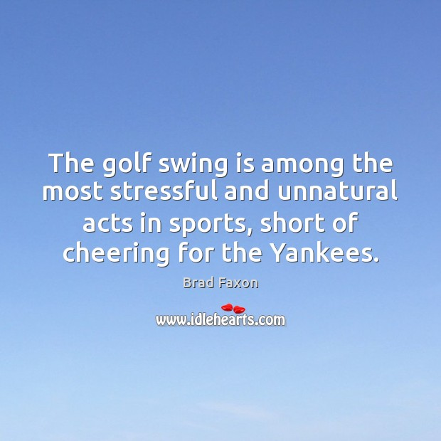 Image, The golf swing is among the most stressful and unnatural acts in
