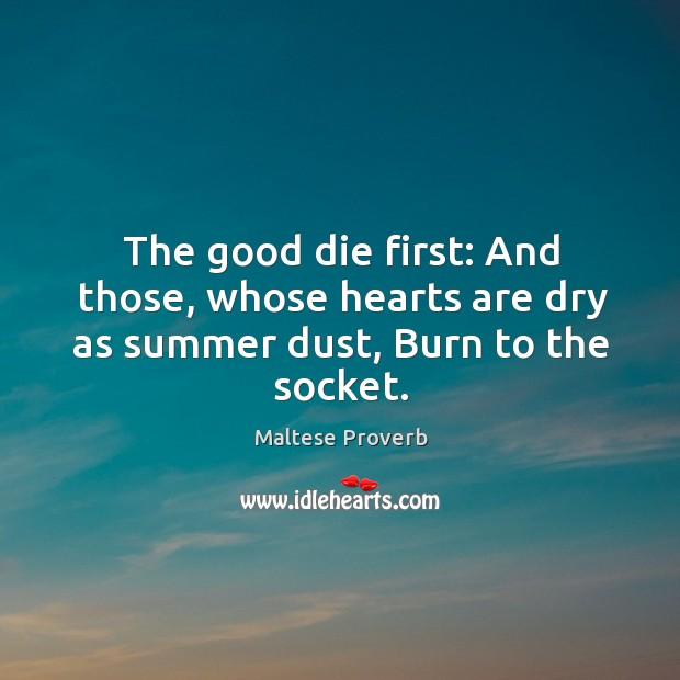 Maltese Proverbs