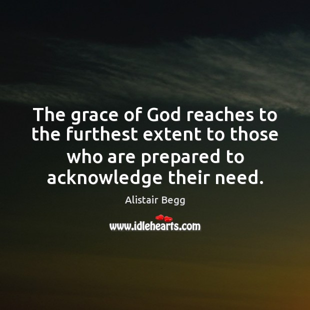 Image, The grace of God reaches to the furthest extent to those who
