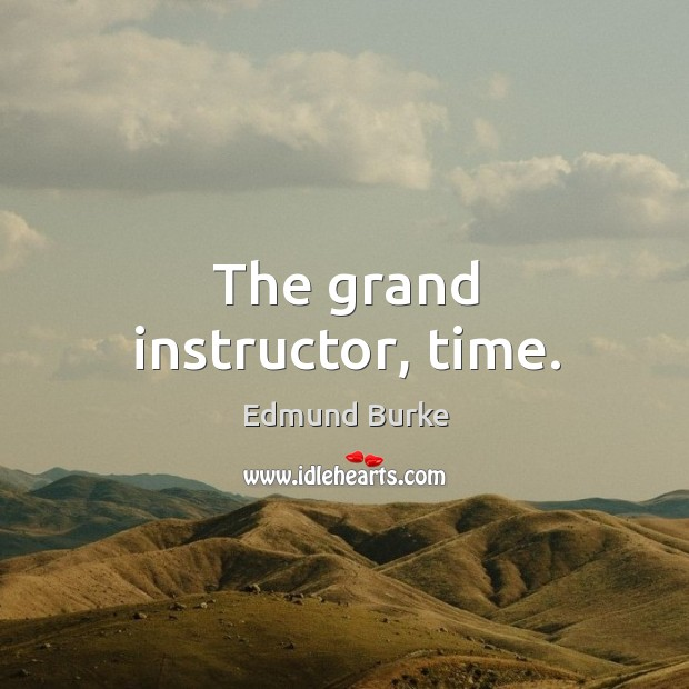 Image, The grand instructor, time.