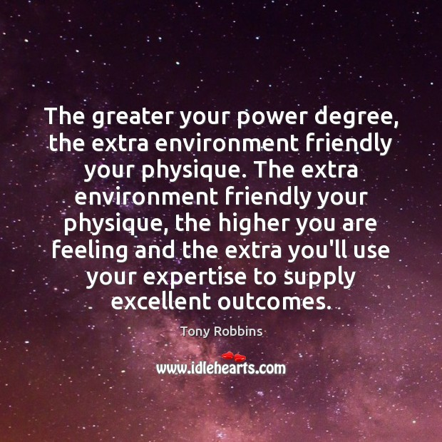 The greater your power degree, the extra environment friendly your physique. The Image