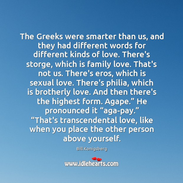 Image, The Greeks were smarter than us, and they had different words for