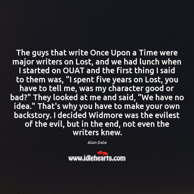 Image, The guys that write Once Upon a Time were major writers on
