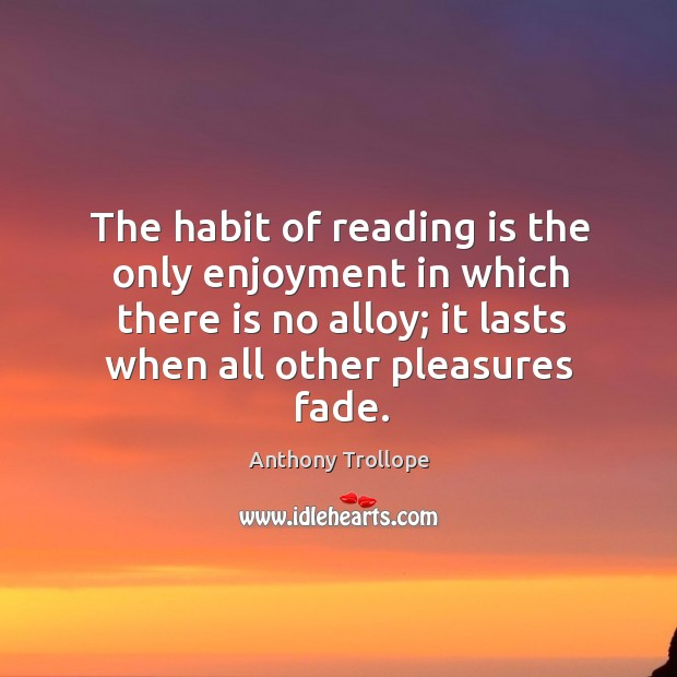 Picture Quote by Anthony Trollope