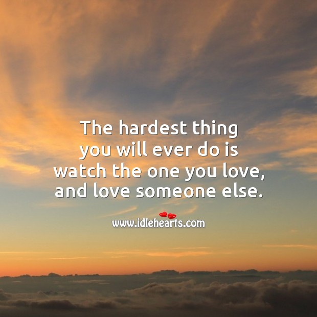 The hardest thing you will ever do is Image