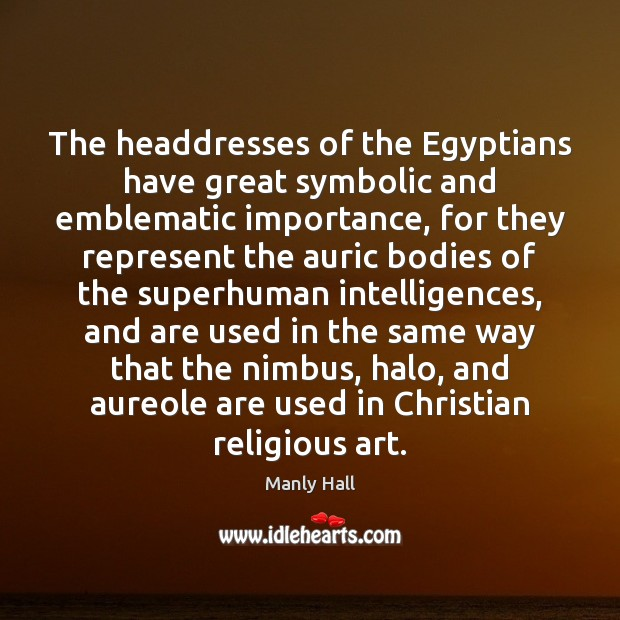 The headdresses of the Egyptians have great symbolic and emblematic importance, for Image