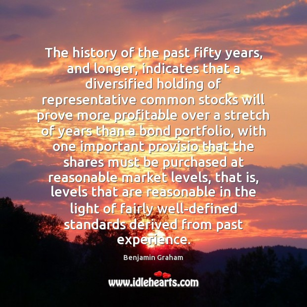 Image, The history of the past fifty years, and longer, indicates that a