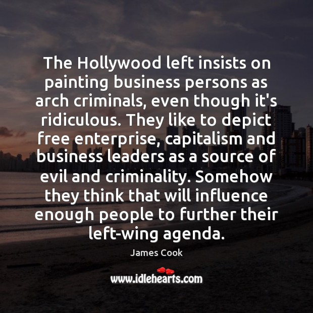 The Hollywood left insists on painting business persons as arch criminals, even Image