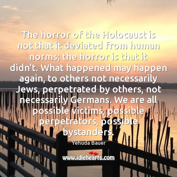 an analysis of the horrors of the holocaust