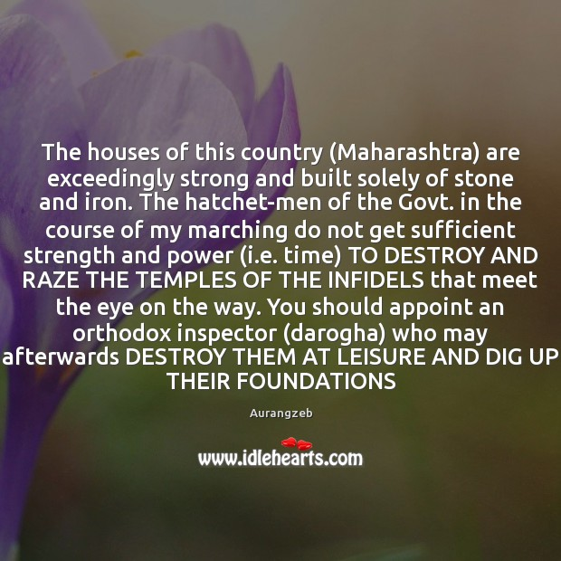 Image, The houses of this country (Maharashtra) are exceedingly strong and built solely