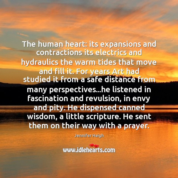 The human heart: its expansions and contractions its electrics and hydraulics the Image