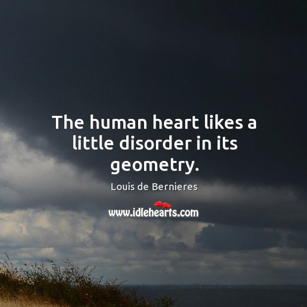 The human heart likes a little disorder in its geometry. Image