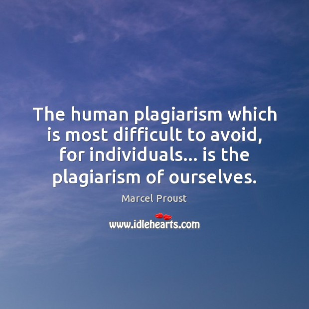 denouncing plagiarism on a particular example