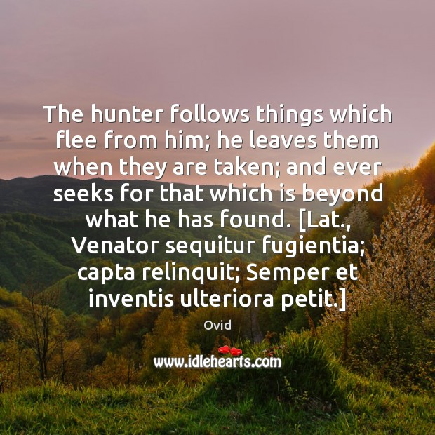 Picture Quote by Ovid