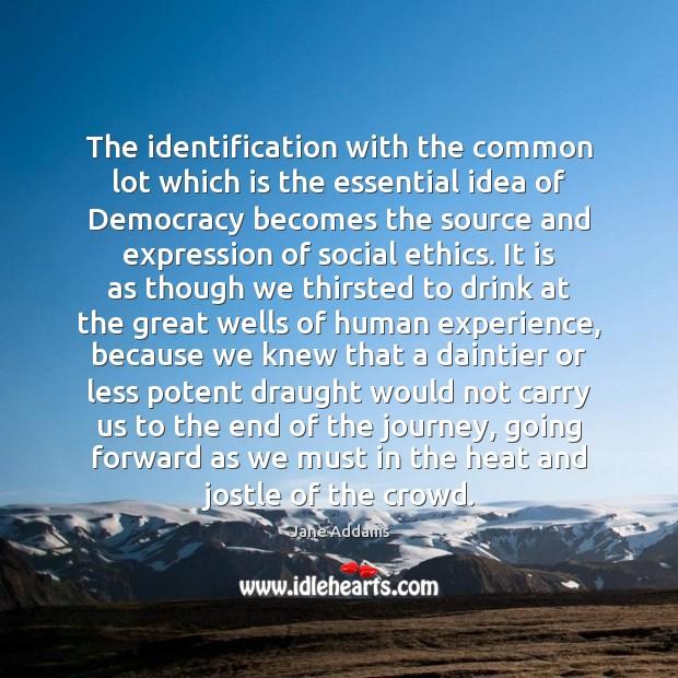 the essential idea of democracies