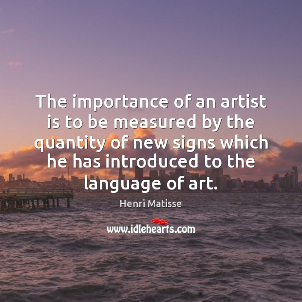 the importance of art in a