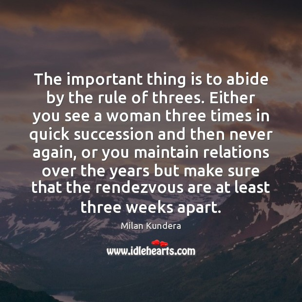 The important thing is to abide by the rule of threes. Either Image