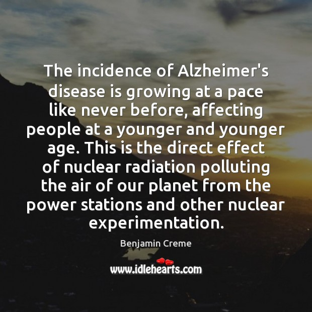 Image, The incidence of Alzheimer's disease is growing at a pace like never