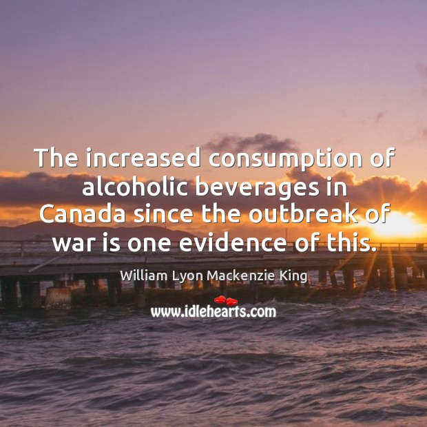 The increased consumption of alcoholic beverages in canada since the outbreak Image