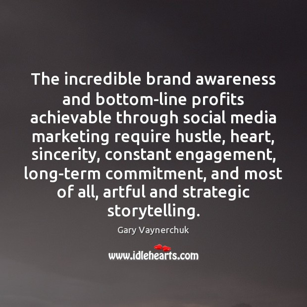 Image, The incredible brand awareness and bottom-line profits achievable through social media marketing