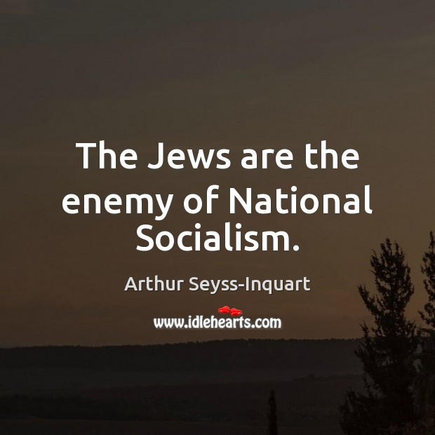 Image, The Jews are the enemy of National Socialism.