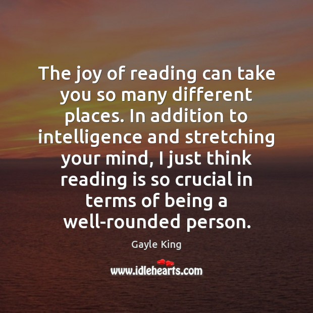 Image, The joy of reading can take you so many different places. In