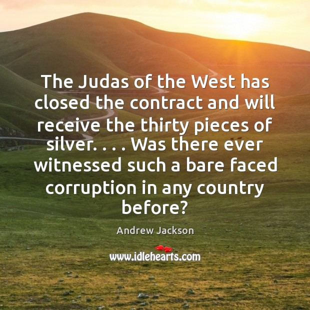 Image, The Judas of the West has closed the contract and will receive