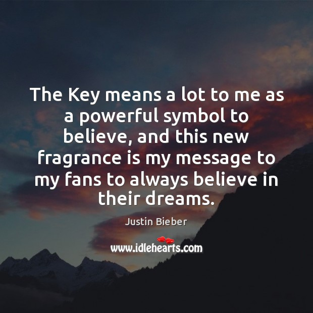The Key means a lot to me as a powerful symbol to Image