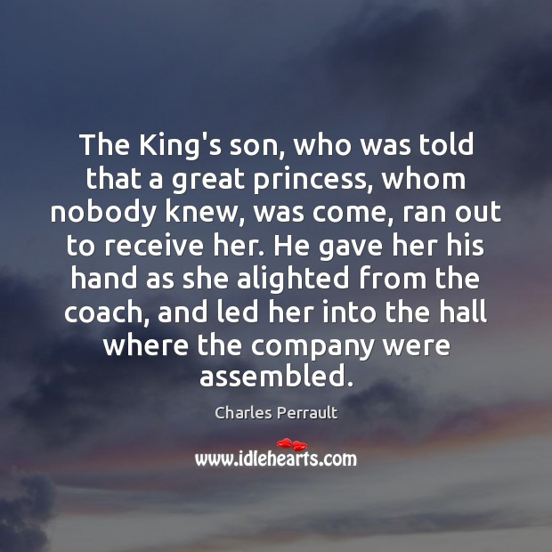 Image, The King's son, who was told that a great princess, whom nobody