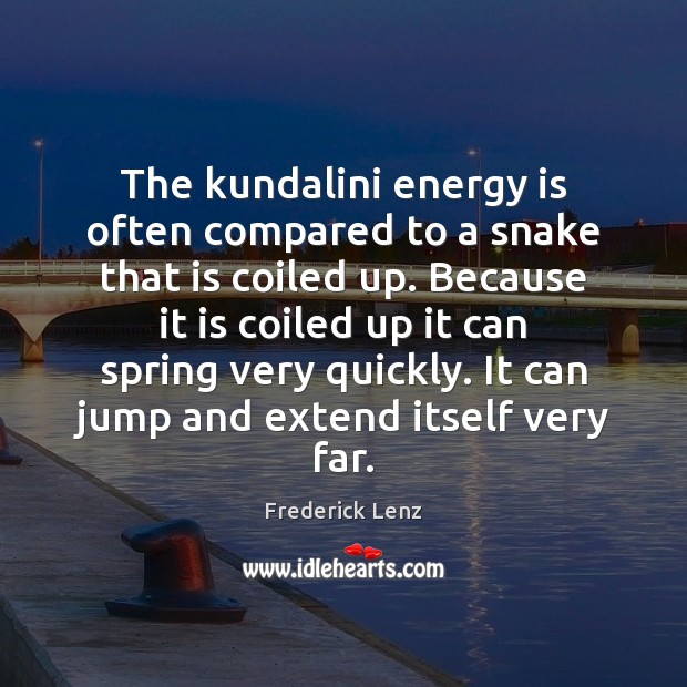 Image, The kundalini energy is often compared to a snake that is coiled