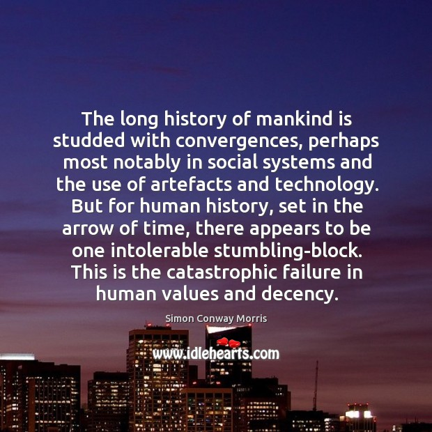 Image, The long history of mankind is studded with convergences, perhaps most notably