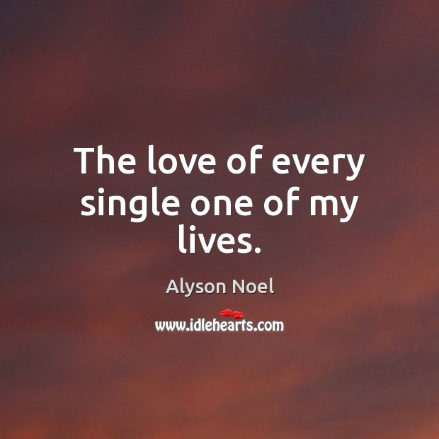 The love of every single one of my lives. Image