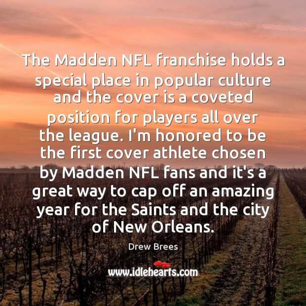 The Madden NFL franchise holds a special place in popular culture and Image