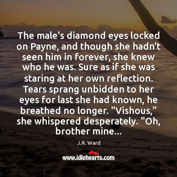 Image, The male's diamond eyes locked on Payne, and though she hadn't seen