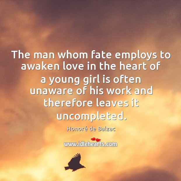 The man whom fate employs to awaken love in the heart of Image