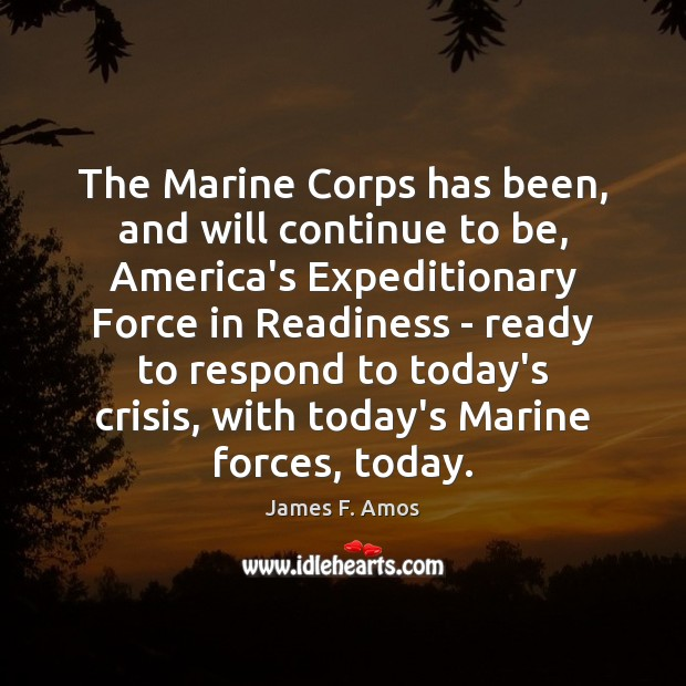 Image, The Marine Corps has been, and will continue to be, America's Expeditionary