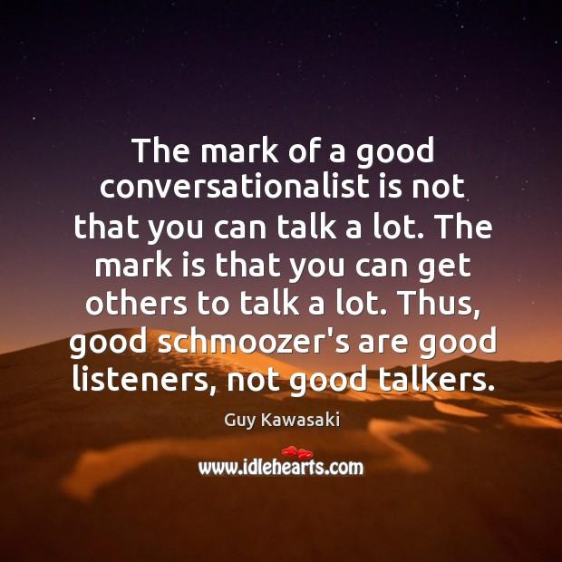 What makes a good conversationalist
