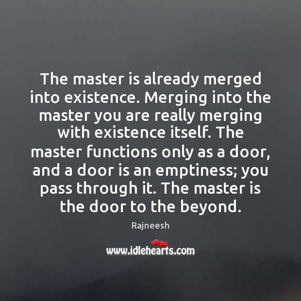 Image, The master is already merged into existence. Merging into the master you