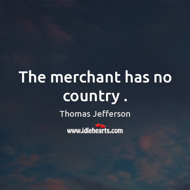 The merchant has no country . Image
