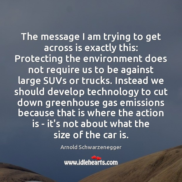 The message I am trying to get across is exactly this: Protecting Action Quotes Image