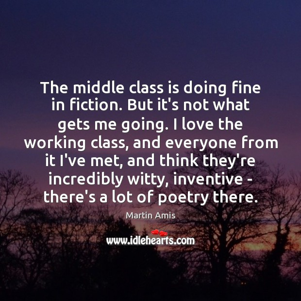 The middle class is doing fine in fiction. But it's not what Image