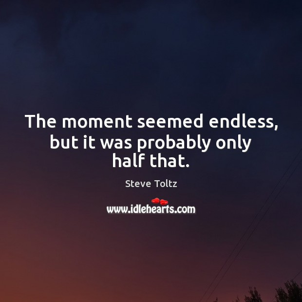 Picture Quote by Steve Toltz