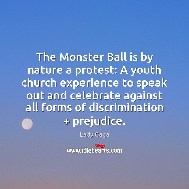 The Monster Ball is by nature a protest: A youth church experience Image