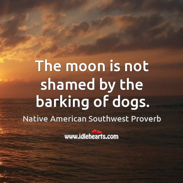 Native American Southwest Proverbs