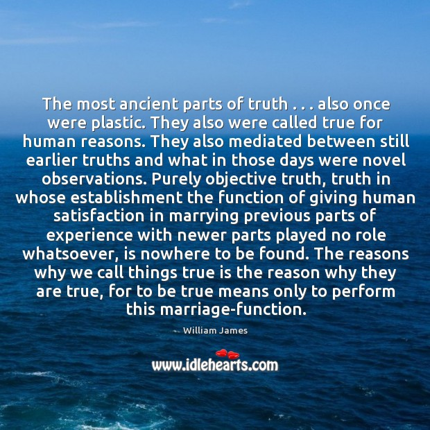 The most ancient parts of truth . . . also once were plastic. They also Image