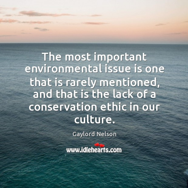 The most important environmental issue is one that is rarely mentioned Image